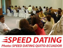I bet you've heard a lot about SPEED DATING all over the World.