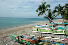 Fishermen's boats at Southern Leyte