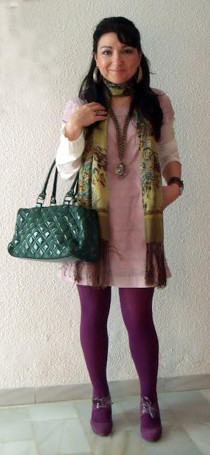 outfit+vestido+rosa