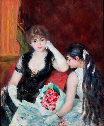 """Renoir-Palco-en-el-teatro-en-el-concierto-1880-The-Clark-Williamstown"""""""
