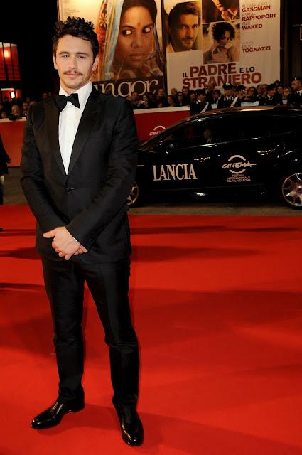 James+Franco+attends+La+Dolce+Vita+premiere+during+the+5th+Rome+International+Film+Festival