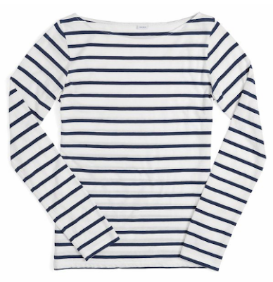boatneck sailor shirt