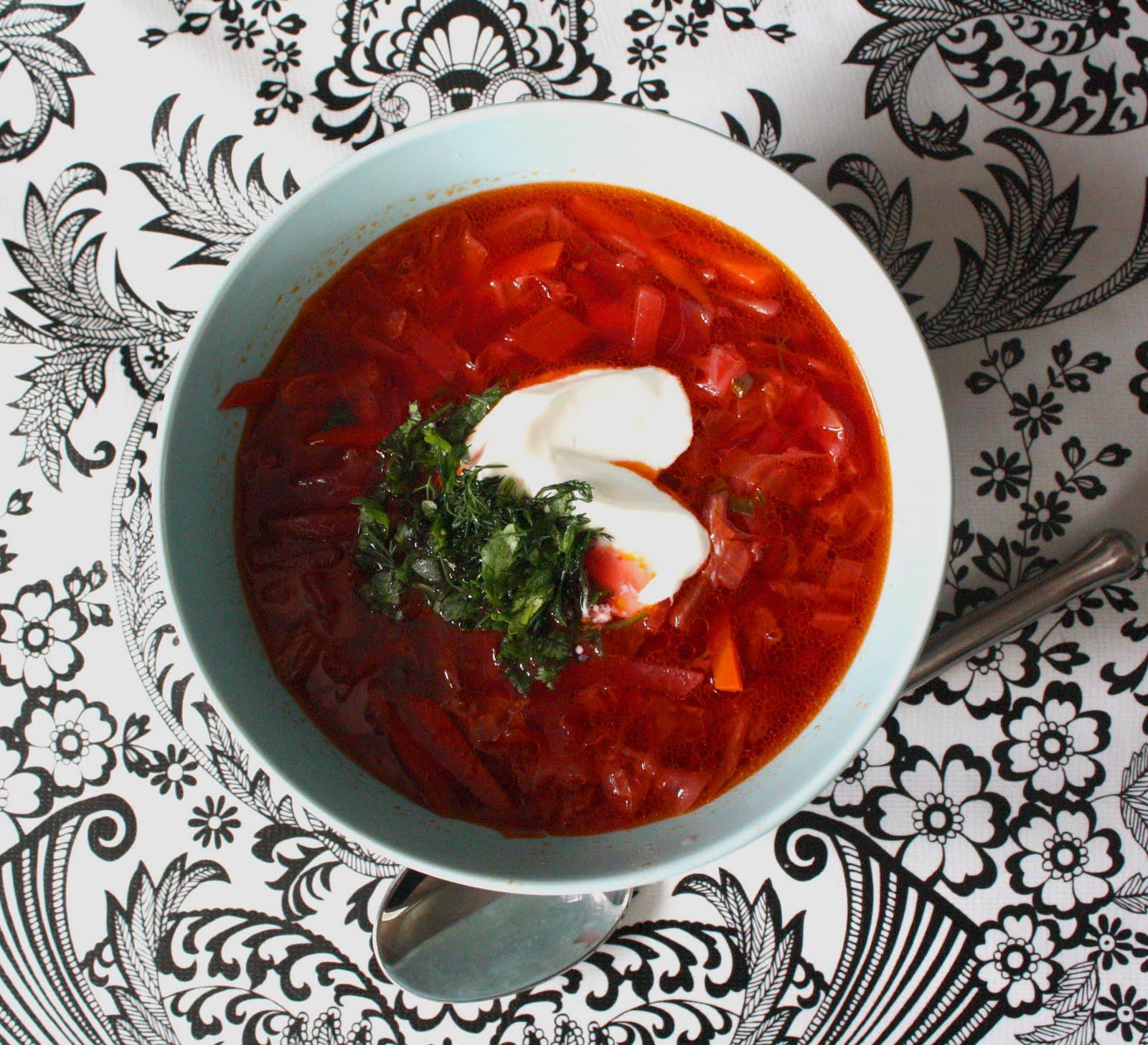 Борщ из свежей капусты рецепт пошагово классический