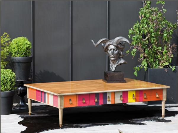 Table Basse Modulable En Hauteur Ikea ~ Witty Proven?al Cocktail Table From Roche Bobois
