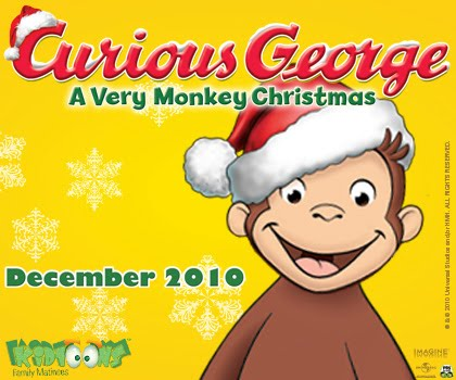 Savvy Moms Save: Curious George: A Very Monkey Christmas DVD ...