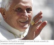 El papa podría ser detenido en Reino Unido. papa