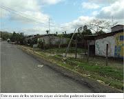 La mayoría de las viviendas del barrio El Centenario padecen de inundaciones . inundaciones centenario