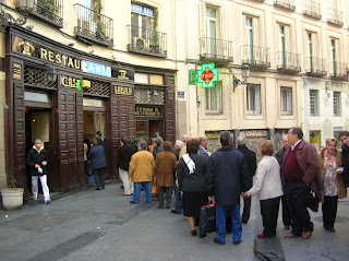 First real tapas in Madrid