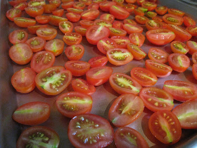 Oven-dried Cherry/Grape Tomatoes
