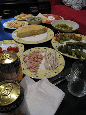 tapas at the piso