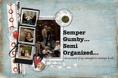 Semper Gumby, Semi Organized...