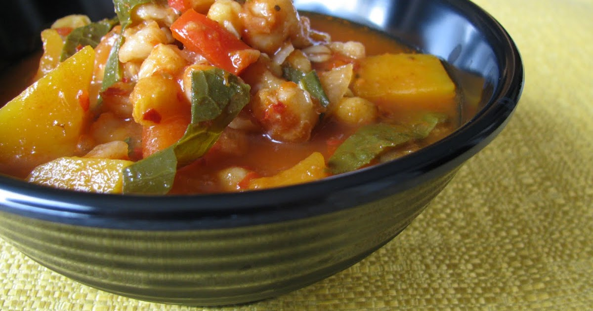 The Ordinary Vegetarian: Posole Stew with Butternut Squash ...