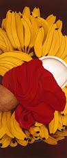 BAZURTO ROJO - 2006.OLEO SOBRE LIENZO. 120X60 cm. AMH
