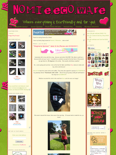 Bloggy Blog Design