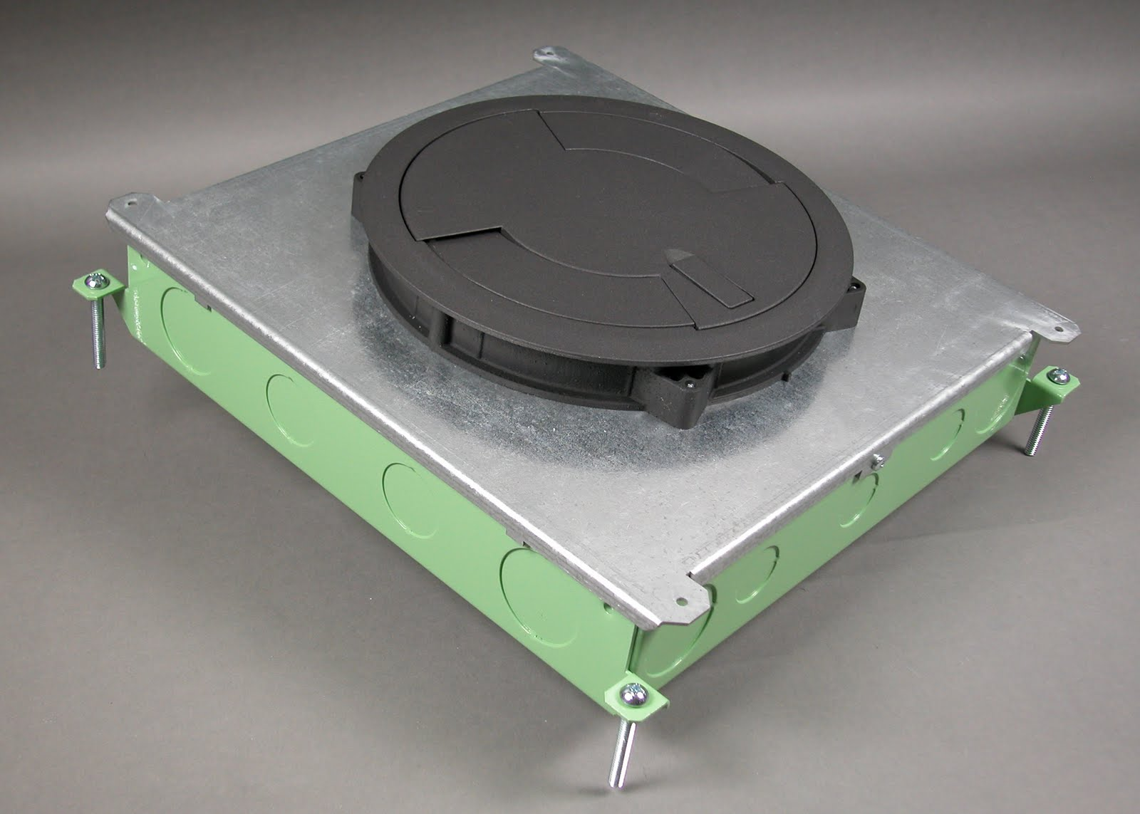 Wiremoldupdate Wiremold 174 Floor Box Now Accepts Round Poke