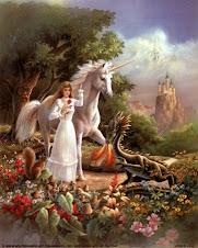 Maiden with Unicorn and Dragon