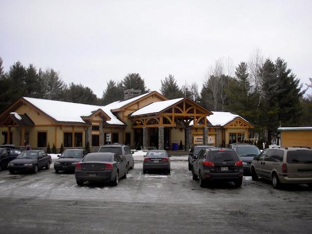 Ski glisse: parc du domaine vert