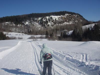Ski glisse la montagne coup e - Montagne coupee ski de fond ...
