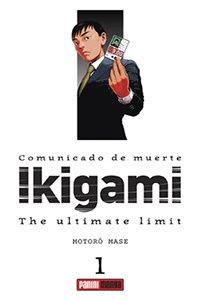 La Editorial de Panini tiene la intención de seguir publicando nuevos títulos sin prisas Ikigami1asdfg0.08831900+1192706551