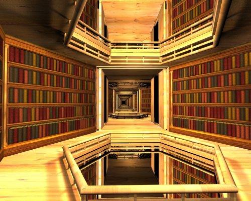 ¿Cuantos libros hay en la biblioteca de Babel?