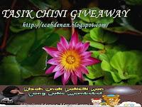 TASIK CHINI GIVEAWAY