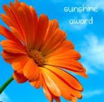 Winner of a Sunshine Award!