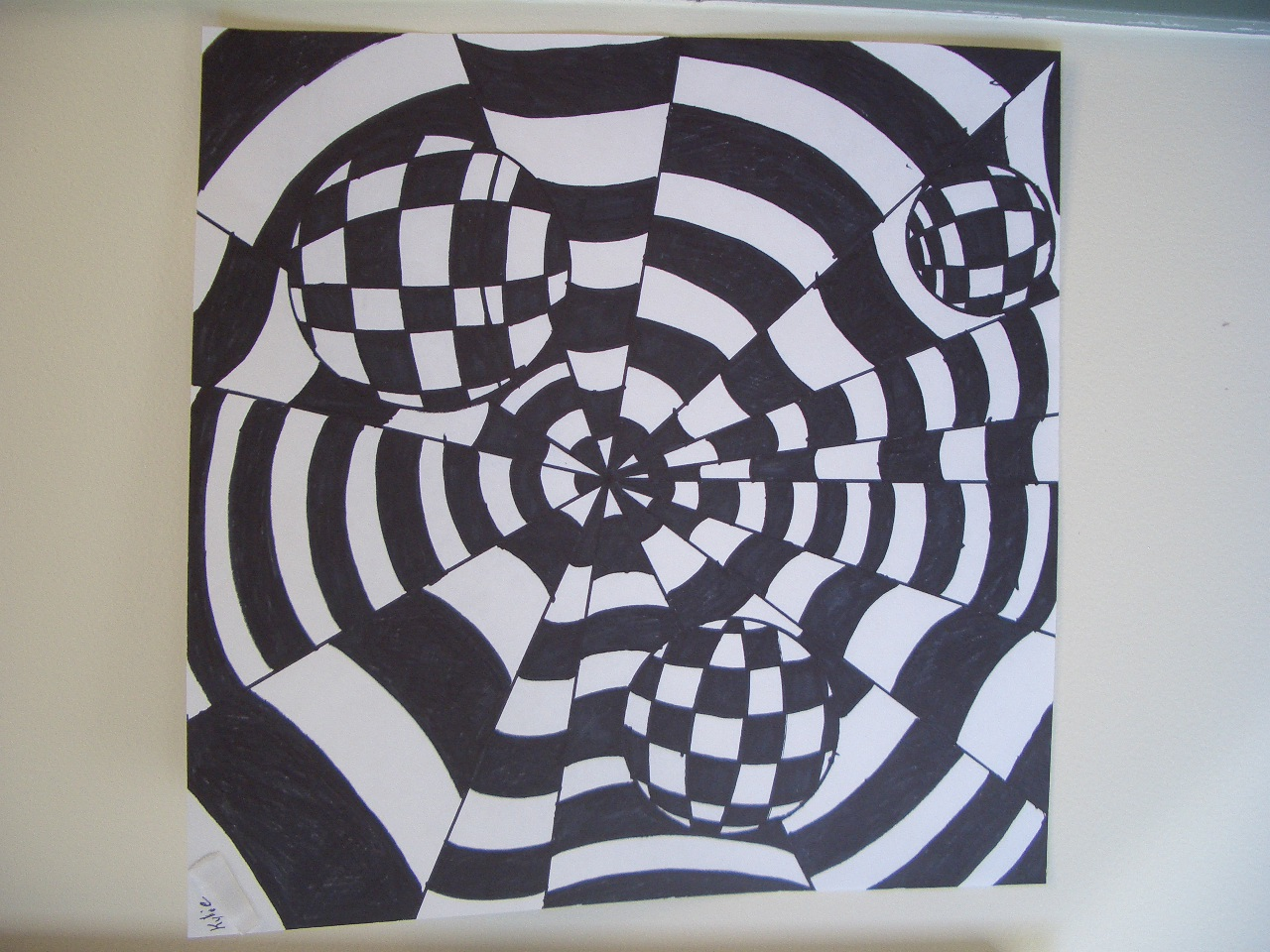 Op Art Line Design Lesson : Dream draw create op art by grade