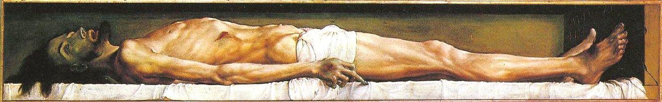ARTE VIVO Hans+Holbein+-+Cristo+Muerto+1521