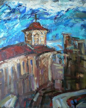  .    / St. Sophia Church In Ohrid