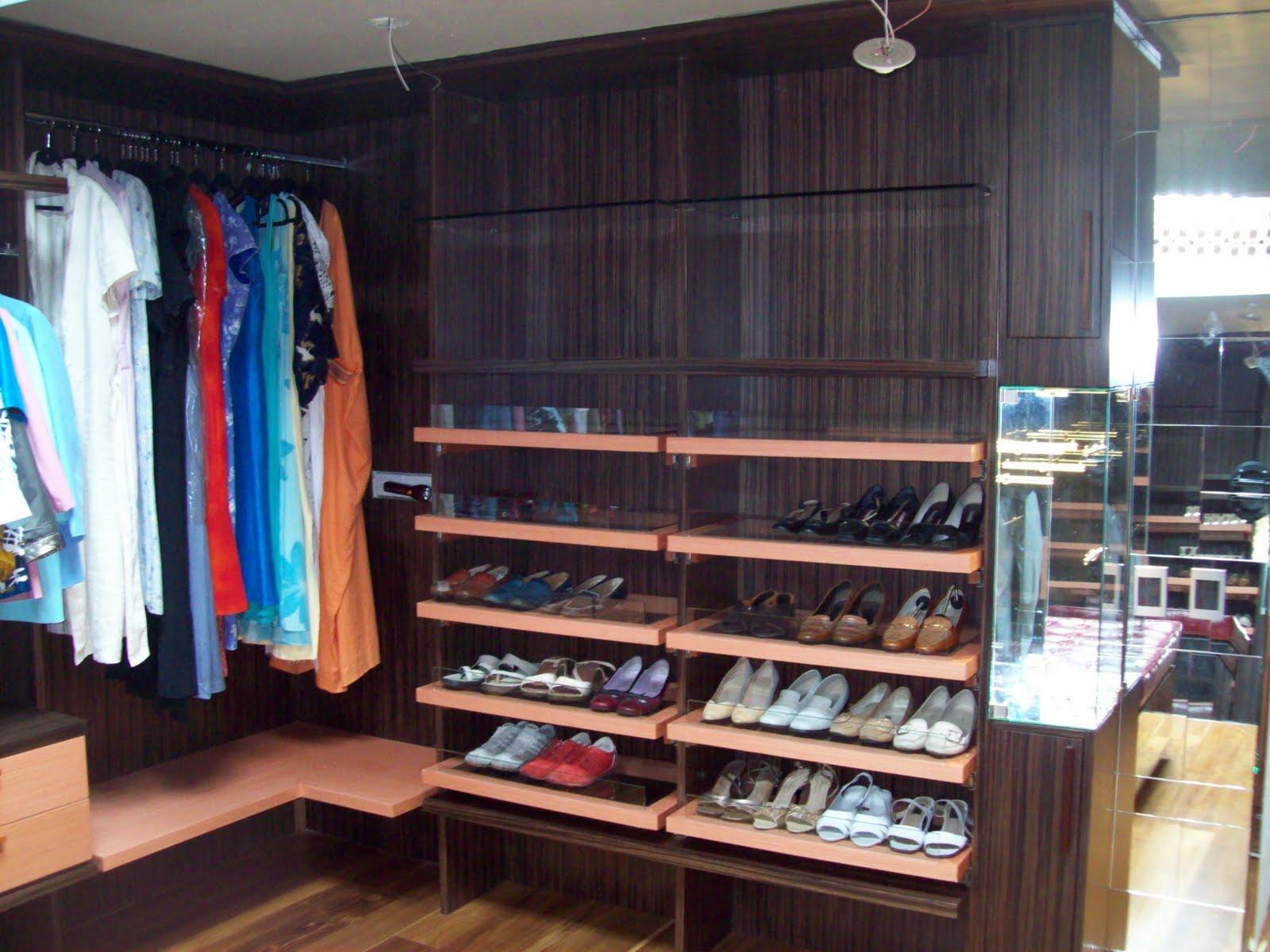 Dise o vestier for Disenos de zapateras de madera
