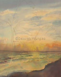 Younglao seascape painting - stage 2