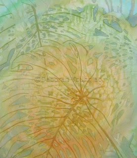 D Younglao batik painting step 2