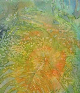 D. Younglao batik painting step 3