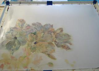 Deborah Younglao batik silk painting