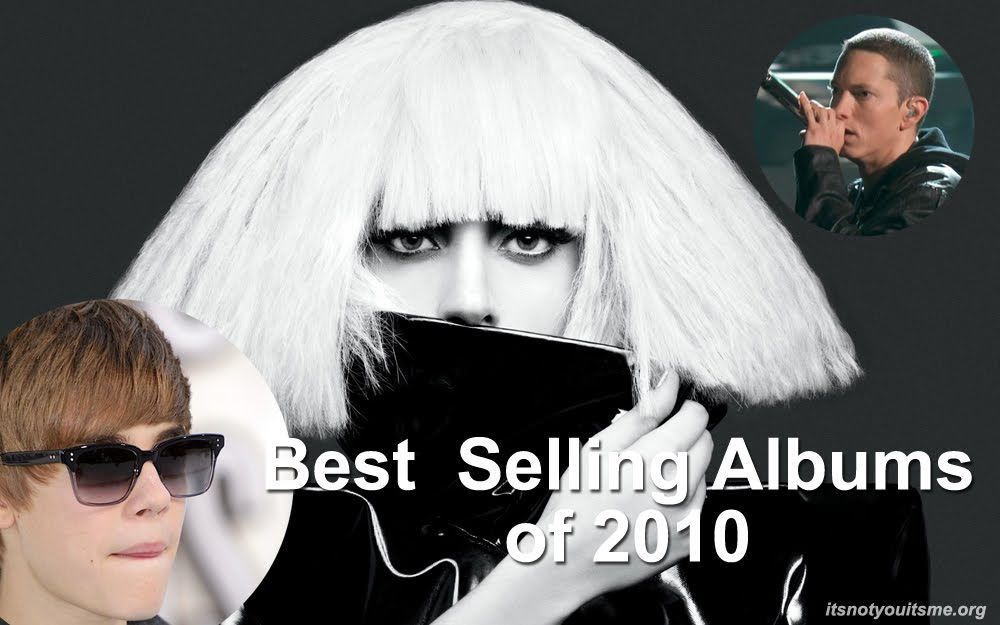 top selling  albums of 2010