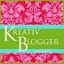 Kreativ Blogger olmuşum...