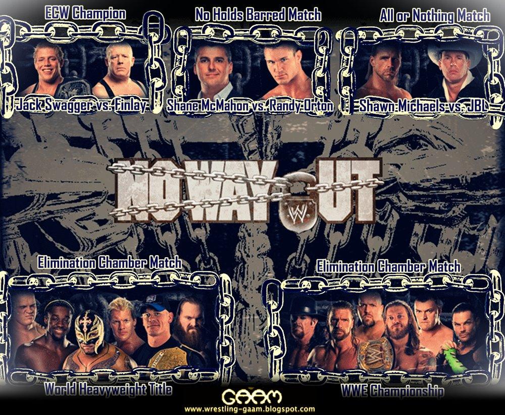 No Way Out 2009