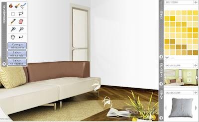 simulador de pintura arquitetura interiores