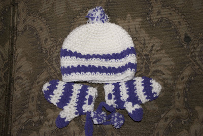 Baby Hat and Gloves