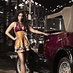 Shriya Saran  in Vintage Car Photoshoot