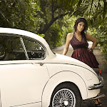 Nayanthara in Vintage Car Photoshoot