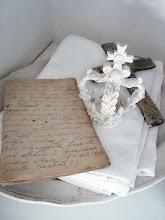 Vackra brev som dekoration