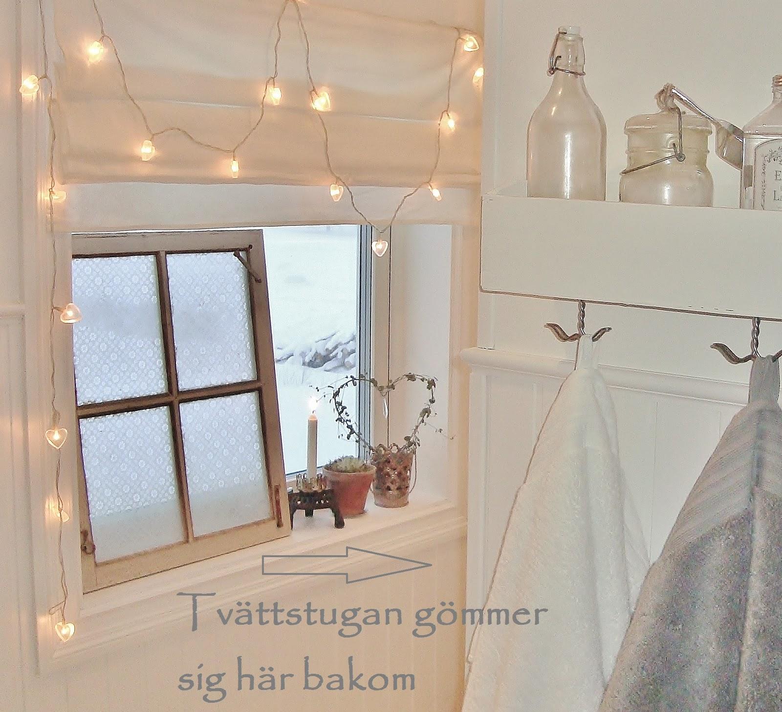 Solgården: badrum/tvättstuga