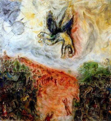 Chagall - Icare