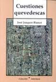 CUESTIONES QUEVEDESCAS