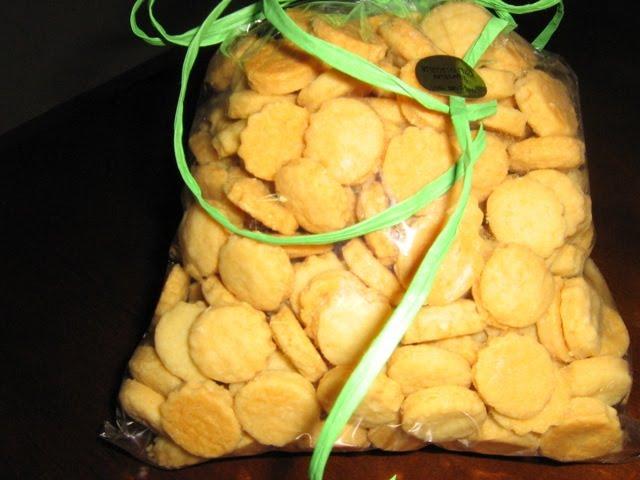 Biscoitos de Parmesão
