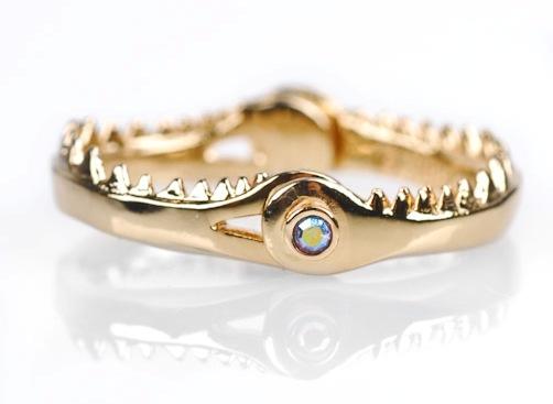 THESUPERDUPERDOPELIFE: Disney Little Mermaid Fish Jaw Ring