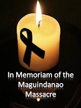 Memoriam of the Maguindanao Massacre
