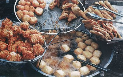 Gorengan (Batter-fried Veggies)