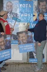 Santiago y Lidia, dos referentes del Partido Popular de Sada